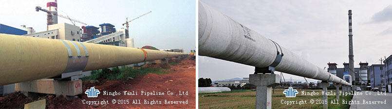 Prefabricated Aerial Steam Insulation Pipe Of WBK Series