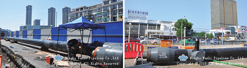 Zhongshan Road Heat Supply Pipeline Project