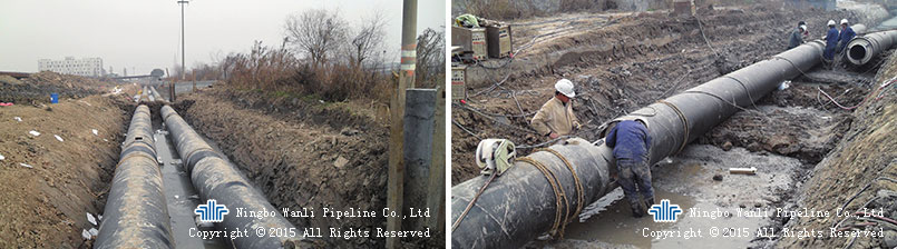 Fengyang Road Heat Supply Pipeline Project
