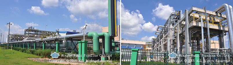 SK Chemicals (Ningbo) Ethylene & Propane pipeline engineering
