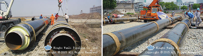Prefabricated Buried Steam Insulation Pipe Of WBD Series