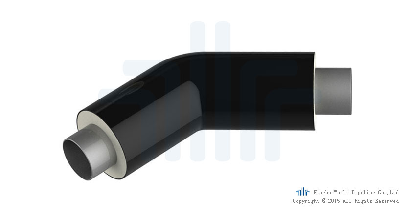 Elbow pipe:directing fluid flows change direction in the core tube fittings.